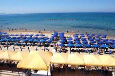 il #mare a #follonica dal terrazzo dell'Hotel Parrini