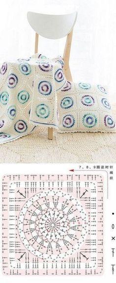 서클무늬 블랭킷 & 쿠션 : 네이버 블로그