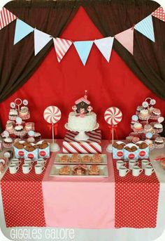 Gingerbread Party...Winter Birthday