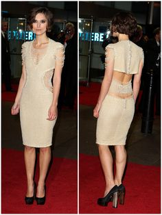Keira Knightley's Chanel pearl dress