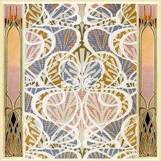 art nouveau designs by René Beauclair. ...