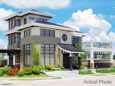 Theme: Japanese Total Area: 20 has. Number of Lots: 175 Lots Lot Sizes: 300 sqm. and up Begins at Php /month* Heisei Model: Area: sqm. and up Storeys: 3 Bedrooms: 3 No packaged houses available for sale. House design and construction plans Modern Bungalow House, Modern Mansion, Small House Design, Modern House Design, Modern Architectural Styles, One Storey House, Mansion Interior, Mansion Bedroom, Modern Style Homes