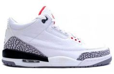 "Classic!!! Air Jordan III ""White/Cement"""