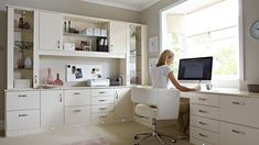 Home Office Ideas. Beautiful Home Office Design. 5 Home Office Decorating Ideas Mesa Home Office, Home Office Space, Home Office Desks, Office Table, Office Workspace, Office Chairs, Room Chairs, Organized Office, Dining Chairs