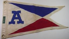 ANTIQUE CLASSIC BOAT SOCIETY CLUB FLAG PENNANT BURGEE | eBay Classic Boat, Nautical Flags, Ivy Style, Vintage Flag, Flea Market Style, Wall Banner, Pattern And Decoration, Yacht Club, Flag Design