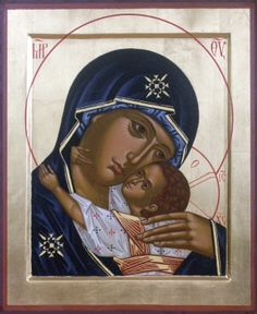 Risultati immagini per mountain madonna icon Religious Pictures, Religious Icons, Religious Art, Jesus And Mary Pictures, Greek Icons, Russian Icons, Jesus Christus, Blessed Mother Mary, Christian Symbols