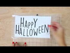 DIY Hexagon Hallowee...