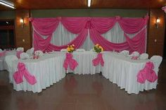 White & pink decoration