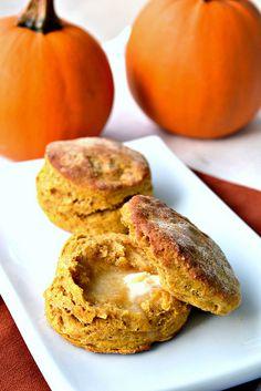 Fluffy Vegan Pumpkin Biscuits by Singerinkitchen, via Flickr