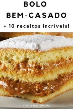 8 Amazing Cake Recipes To Make At Home- 8 receitas incríveis de bolos para fazer em casa Selection with several amazing cake recipes to make at home. This photo is a well married cake, try the pin, do it now! Easy Smoothie Recipes, Good Healthy Recipes, Snack Recipes, Dessert Recipes, Cooking Recipes, Desserts, Best Cake Recipes, Sweet Recipes, Homemade Frappuccino