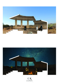 Communal Perspective Sectional Perspective, Gazebo, Outdoor Structures, Nature, Kiosk, Pavilion, The Great Outdoors, Mother Nature, Scenery