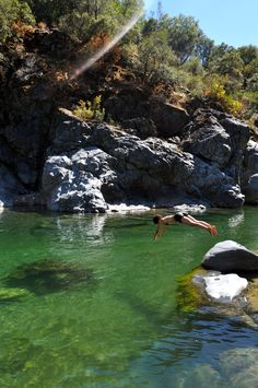 Love that swimming hole!