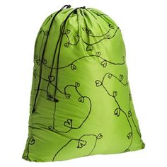 Green Hearts Laundry Bag  by reisenthel®