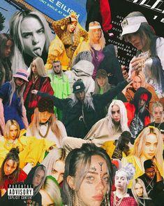 Billie Eilish fondos de pantalla billie fondosdepantalla collage  Cantantes y Artistas