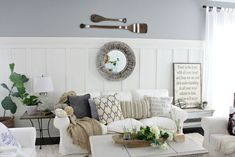 One of my favorite spaces! And I adore lots of texture! Craftberry Bush | Three ways to add texture to a neutral space | http://www.craftberrybush.com