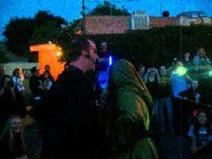 'Star Wars' pub crawl, flash mob AND marriage proposal.