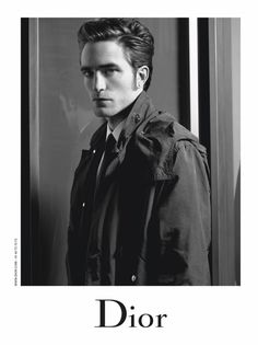 Robert Pattinson photographed by Karl Lagerfeld for Dior Homme's fall 2016 campaign.
