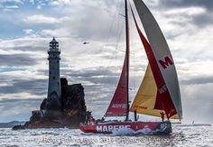 Rolex Fastnet Race 2017<br /> <br /> Mapfre, Sail No: ESP 0, Class: Volvo 65, Owner: Volvo Ocean Race, Sailed by Xabi Fernandez, Type: VOR 65