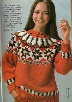 View album on Yandex. Knit Fashion, Womens Fashion, Nordic Sweater, Fair Isle Pattern, Knitting Designs, Christmas Sweaters, Sweater Cardigan, Free Pattern, Knit Crochet