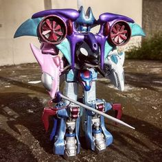 The Sea God and third member of the Gao Pantheon: Gao Susanoo. I changed this guy's name a couple times. It was Gao Neptune because I wanted to be . Power Rangers Wild Force, Power Rangers Megazord, Susanoo, Gao, Guy Names, Kamen Rider, Storms, Deities, Vocaloid