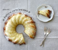 עוגת וניל ולימון איטלקית ללא קמח, כולל מתכון מלא בעברית
