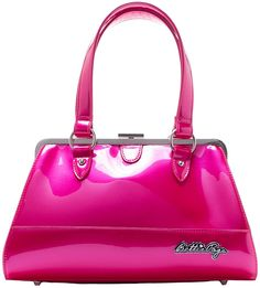 SOURPUSS BETTIE PAGE CENTERFOLD PURSE GUMBALL PINK