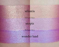 Ofra cosmetics duochrome metallic liquid lipsticks
