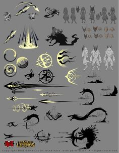 ArtStation - Kindred to League of Legends, Alexandr (LittleDruid) Pechenkin… Character Concept, Character Art, Art Sketches, Art Drawings, Drawing Faces, Magic Design, Poses References, Weapon Concept Art, Digital Art Tutorial