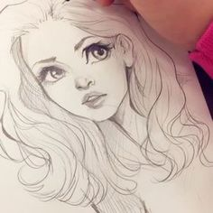 Just a short video of me drawing Buffy the Vampire Slayer with yesterday's speaker, @theanimatedlife, at @digitalpaintsketchclub Are you guys ready for inktober?? I started drawing my third inktober just to have a little head start