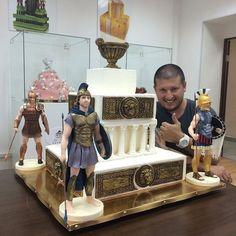 Торт с легионерами! Настоящий мужской торт
