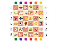 Παιχνίδι με Εικόνες και Ζάρια για Περιγραφικό Λόγο