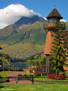 Hotel Puerto Lagos in Imbabura Province, Ecuador  (by Hotu Matua)