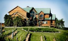 Elk Creek Vineyards is Kentucky's Largest Winery in Owenton, Kentucky. This is a picture of the Bed & Breakfast lodge. A charming place to stay.