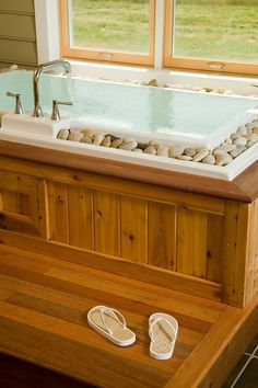 Infinity Rock Bath Tub. If only there was a DIY avaliable....