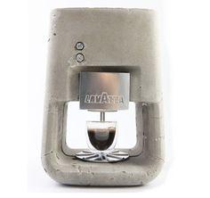 Unusual Concrete Espresso Machine by Linski Design