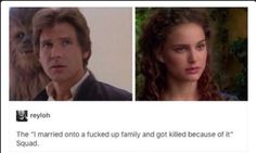 Guess what... They both married Skywalkers...