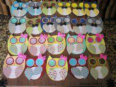 Ηandmade owl invitations for my daughter's birthday party. My Daughter Birthday, To My Daughter, Owl Invitations, Crafts For Kids, Party, Inspiration, Crafts For Children, Biblical Inspiration, Crafts For Toddlers