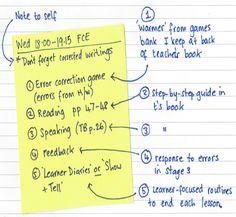 Katherine Bilsborough: Writing Lesson plans – less is more | TeachingEnglish | British Council | BBC