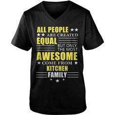 KITCHEN Awesome KITCHEN Family tee shirts