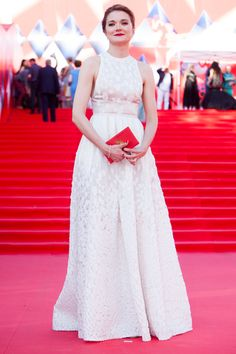 Надежда Михалкова - Nadezhda Mikhalkova in Elie Saab attends an opening ceremony of the 38th Moscow International Film Festival on June 23, 2016 in Moscow