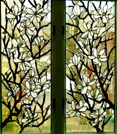 Would put something like this beautiful stained glass window over my