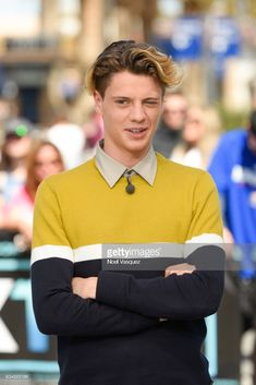 "Jace Norman visits ""Extra"" at Universal Studios Hollywood on March 2018 in Universal City, California. Get premium, high resolution news photos at Getty Images Jason Norman, Henry Danger Jace Norman, Norman Love, Universal Studios, Universal City, Jace Norman Snapchat, Henry Danger Nickelodeon, Hollywood, Pretty Black Girls"