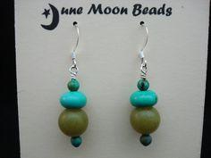 Semi Precious Stone Earring Club Membership by JuneMoonBeadJewelry, $60.00