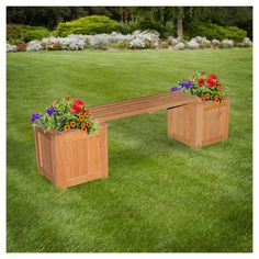 The Patio Bench With Planters By Backyard Discovery Is A Great Way To  Accent Your Patio With Color And Give Your Guests More Places To Sit.
