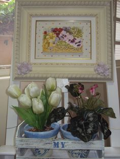 Pintura óleo sob tela com aplicação de resinas.