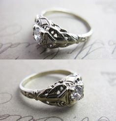 Vintage ring- really like this