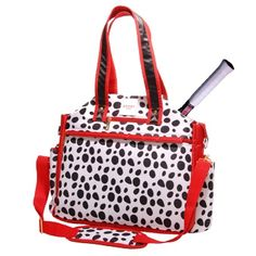 Isaac Mizrahi Sport Collection Tennis Tote - Chelsea by Glove It. Buy it @ ReadyGolf.com