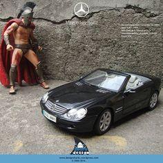 E a sexta-feira chegou. O Rei Leônidas saiu com sua Mercedes SL500 conversível Preta.  #mercedes #mercedessl500 #amg #convertible #conversivel #sl500 #mercedesbenzfashionweek #Mercedes-Benz #graphicdesign #productdesign #projectdesign #kingleonidas #leonidasking #spartan #sparta #leonidasdesigner #sharks