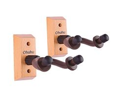 Ohuhu Hardwood Home  Studio Guitar Hanger 2Pack * Read more  at the image link.(It is Amazon affiliate link) #love