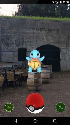 Vanaf nu maken we rondom de forten niet meer alleen jacht op Stampions stempels....... FortaandeDrecht #PokémonGO